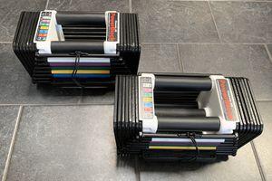 Powerblock Classic 50 LB Adjustable Dumbbell Set for Sale in Nashville, TN