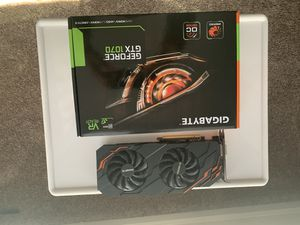 Gigabyte nvidia GeForce gtx 1070 for Sale in Herndon, VA