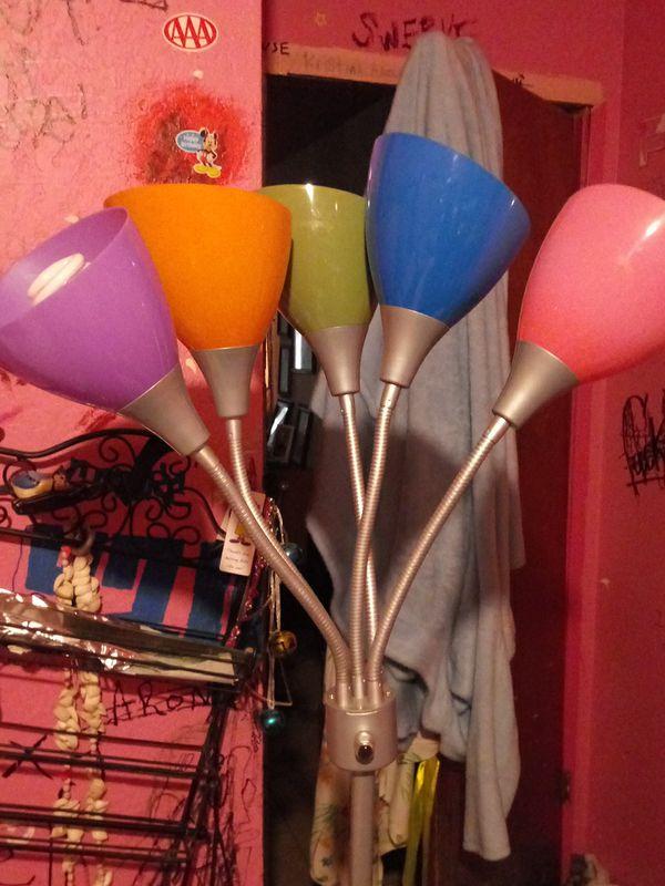 5 headed standing Lamp
