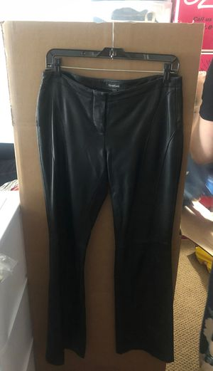 bebe Black Leather Pants for Women for Sale in Chicago, IL
