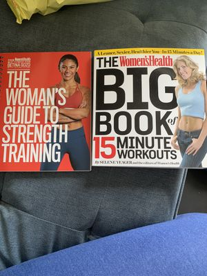 Women's Health Big Book of Workouts & Guide to Strength Training for Sale in Eatonville, FL