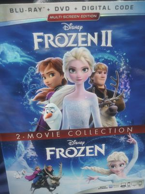 Frozen 1&2 combo bluray dvd and digital for Sale in Chicago, IL