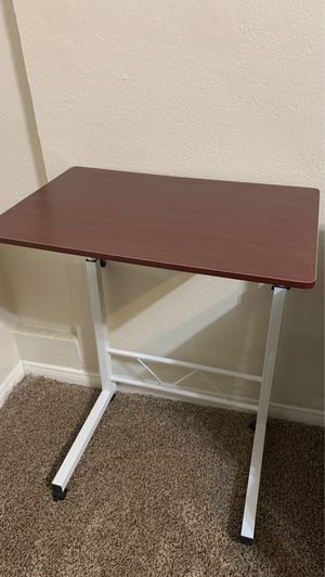 Rolling laptop desk / bedside table for Sale in San Diego, CA
