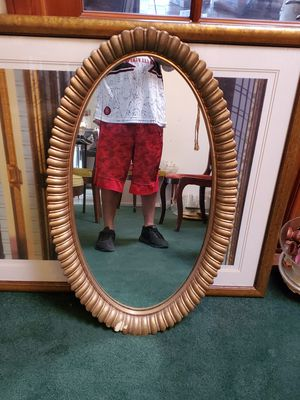 vintage antique syroco mirror for Sale in Chino Hills, CA