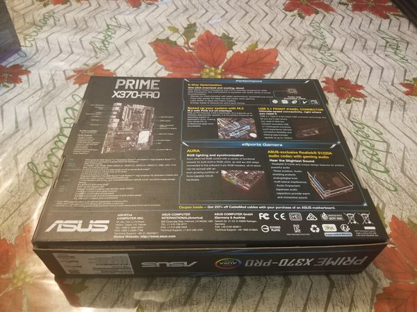 ASUS X370 Pro Motherboard