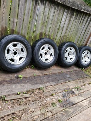 Chevy 17 wheels for Sale in Houston, TX