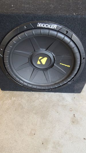 Kicker speaker and amp for Sale in NEW PRT RCHY, FL
