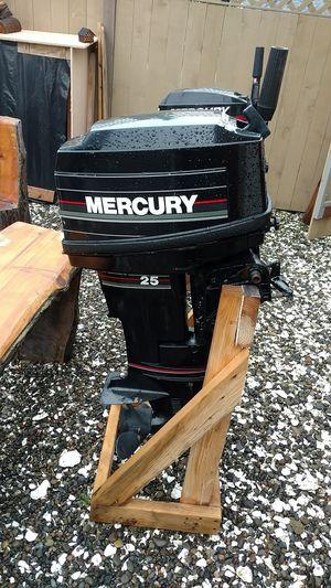 25 horsepower Mercury outboard for Sale in Sumner, WA