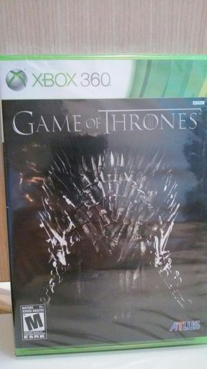 Game of Thrones RPG Xbox 360 Game Brand New!! for Sale in Chicago, IL
