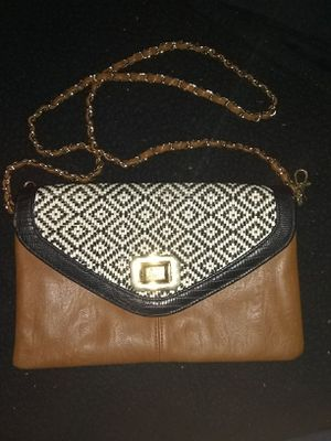 Aldo handbag with gold and leather chain for Sale in Wichita, KS