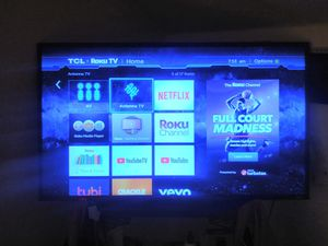 "43"" 4k TCL Roku tv for Sale in Detroit, MI"