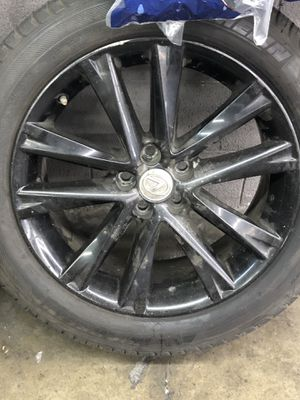 """Lexus RX 19"""" rims brand new Michelin tires for Sale in Hawthorne, CA"""