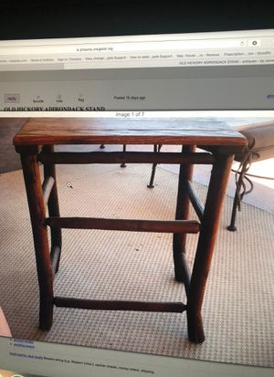 Old Hickory Adirondack Stand for Sale in Scottsdale, AZ