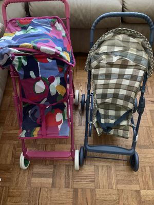 2 Gracias doll toy stroller with crib for Sale in Roswell, GA