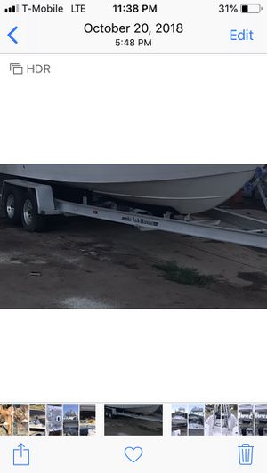 Aluminum boat trailer for Sale in Santee, CA