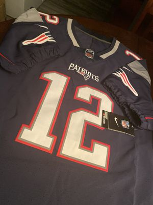 Tom Brady Patriots vapor untouchable elite jersey size 52 for Sale in Clewiston, FL