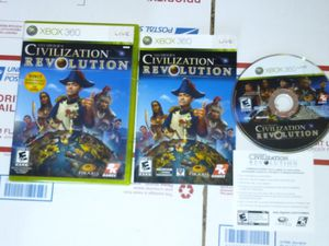 Civilization revolution for Xbox 360 for Sale in Chicago, IL