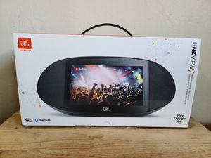 "JBL Link View Bluetooth Smart Speaker w/ 8"" Display for Sale in San Diego, CA"
