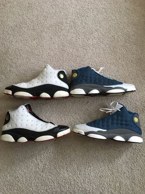 Nike Air Jordan 13 flint he got same shoes size 13 for Sale in Escanaba, MI