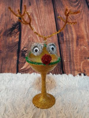Rudolph Custom Candle Holder for Sale in Peoria, IL