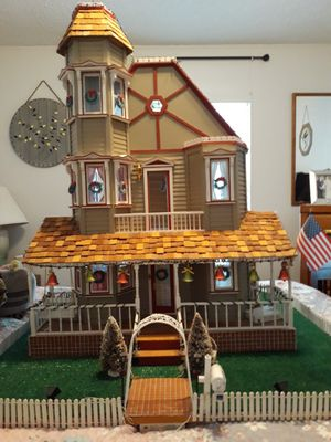 Wooden doll house for Sale in Winter Haven, FL