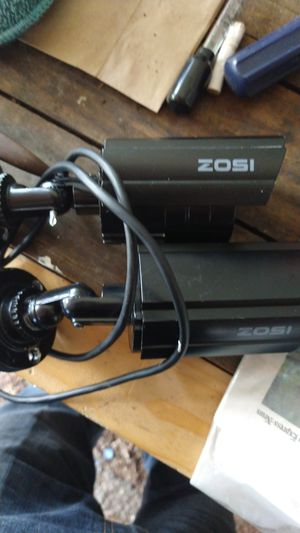 Zosi 1080 HD night vision motion detection servailance cameras for Sale in San Antonio, TX