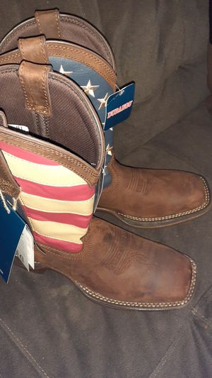 Work boots ariat not Steel 8.5 for Sale in Houston, TX