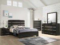 B4830 chanta 4 pcs Queen size Bedroom set for Sale in Irvine, CA