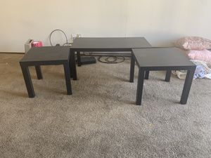 Coffee table and side tables for Sale in Santa Clara, CA