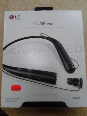 *BRAND NEW* LG TONE PRO HBS-780 Wireless Stereo Headset - Black for Sale in Baltimore, MD