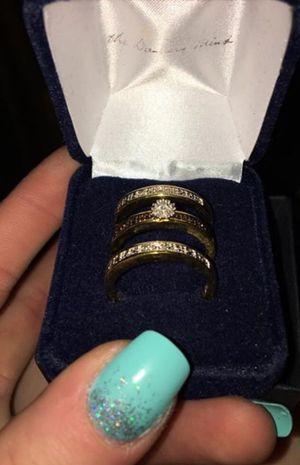 Danbury mint I love you always diamond ring set for Sale in Newark, OH