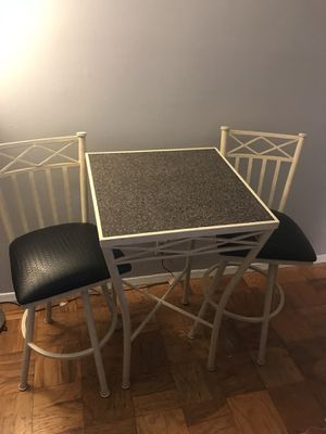 Custom pub table and chair set for Sale in New York, NY