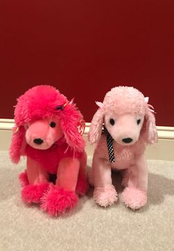 Pink Poodle Plushies for Sale in Great Falls,  VA
