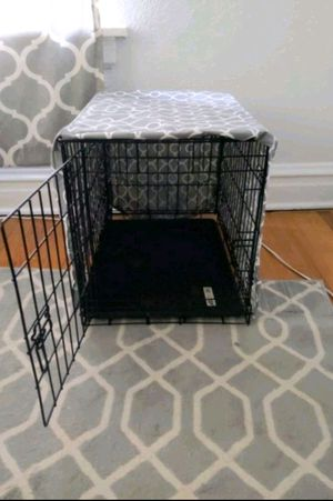 Small Dog Crate with Cover for Sale in St. Louis, MO
