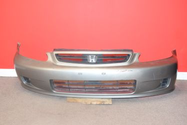 JDM 1999-2000 HONDA CIVIC OEM SILVER FRONT BUMPER WITH GRILLE for Sale in Philadelphia,  PA