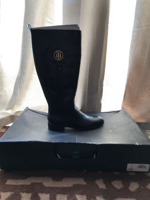 Tommy Hilfiger Ivane - Womens 7. 5 MWC Black Boot Medium for Sale in Arlington, VA