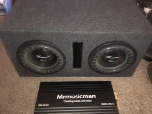 Mrmusicman v2-10 inch Bass Package 🔊🔊 for Sale in Tempe, AZ