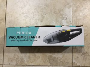 HIMOX 80000pa 120W strong suction handheld vacuum, rechargeable cordless hand vacuum cleaner with powerful cyclonic suction/2 filters and 5 attachmen for Sale in Brooklyn, NY