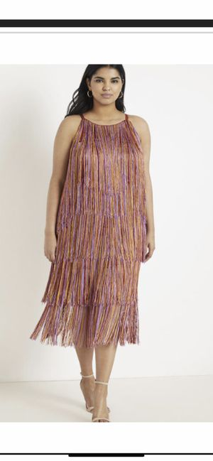 Eloquii Fringe Dress (Size 16) for Sale in Upper Marlboro, MD