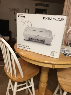 Canon printer/copier and scanner. Brand new, box never opened. Sells at Walmart for over $50, I will take $40. for Sale in Tupelo, MS