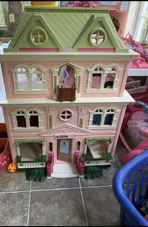Doll house with people and Furniture for Sale in Bowie, MD