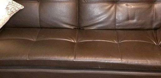 Leather Futon From Costco for Sale in Phoenix,  AZ