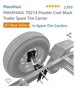 Maxxhaul trailer spare tire carrier for Sale in Las Vegas, NV