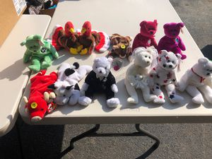Beanie Babies Collectables for Sale in WILOUGHBY HLS, OH