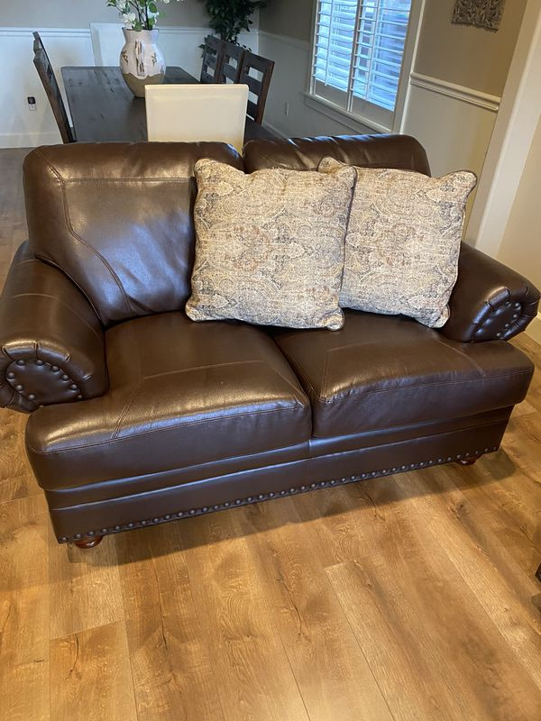 Sofa And Loveseat With Pillows