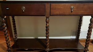 Brown Antique Console Table for sale (34Lx53W×16H) for Sale in Pittsburgh, PA