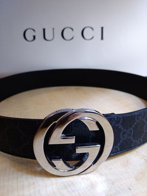 Gucci belt w/ Supreme canvas for Sale in Frisco, TX