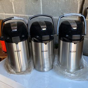 BUNN 2.5 Liter Thermal Stainless Steel for Sale in Columbia, SC