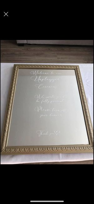 "16""x20"" unplugged ceremony mirror for Sale in Seattle, WA"