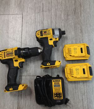 DEWALT impact driver and drill driver with battery & charger for Sale in Dearborn Heights, MI
